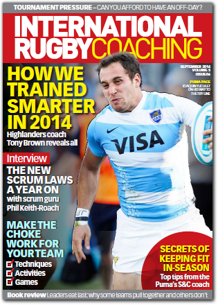International Rugby Coaching eMagazine